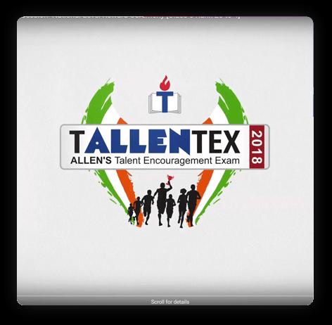 TALLENTEX Video gallery for exam success - ALLEN Career